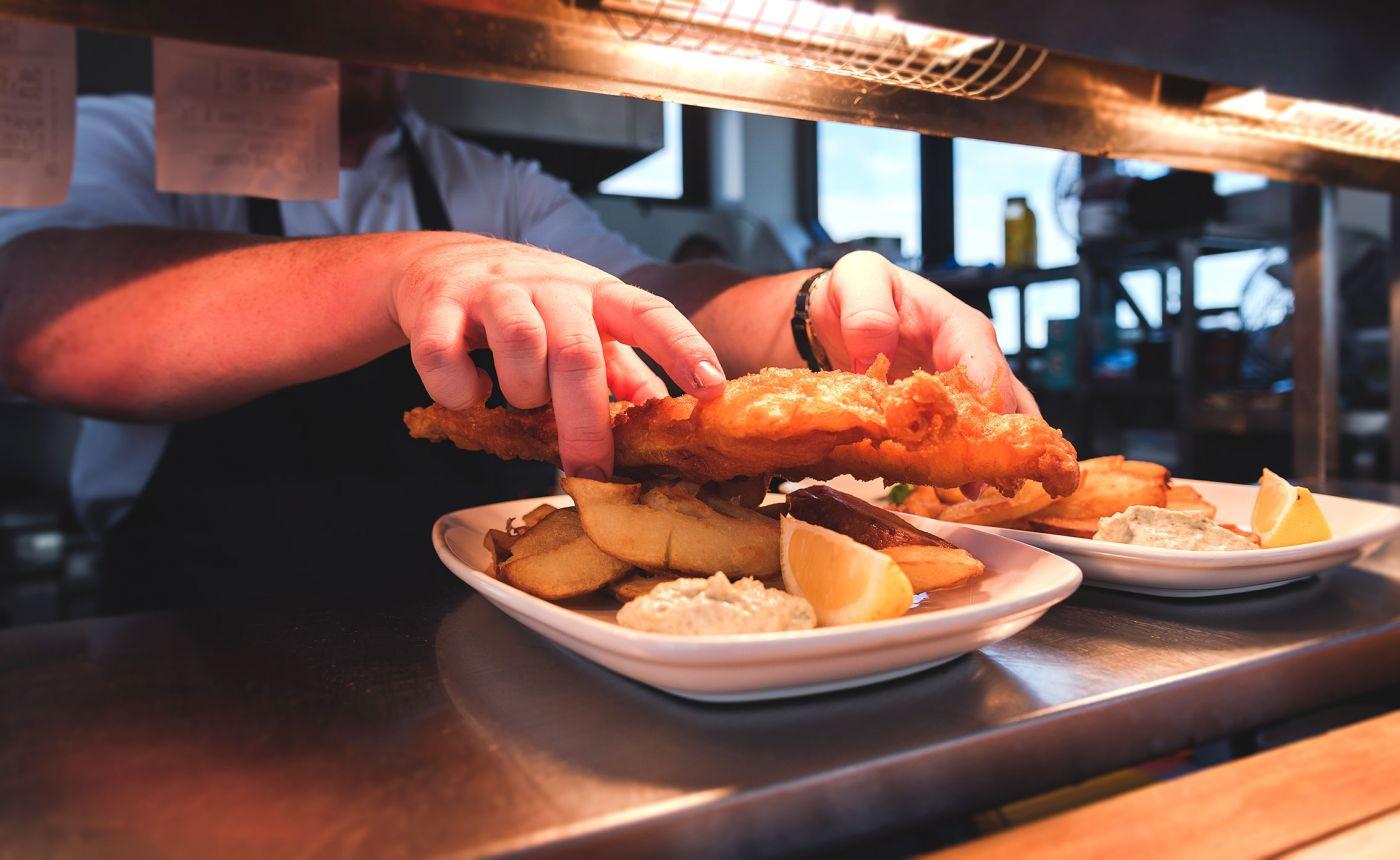 Blyth Boathouse food