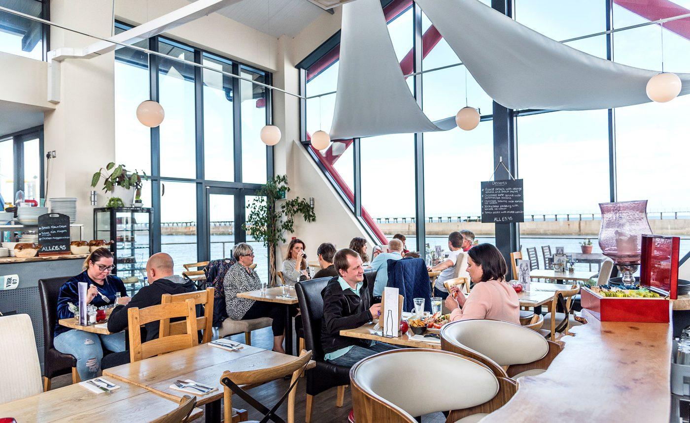 Blyth Boathouse restaurant interior