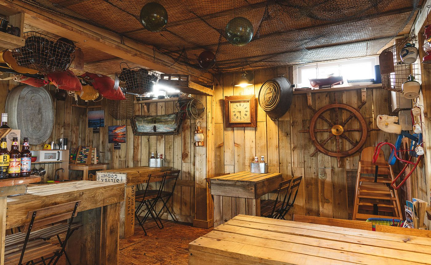 Fish Shack Amble restaurant interior