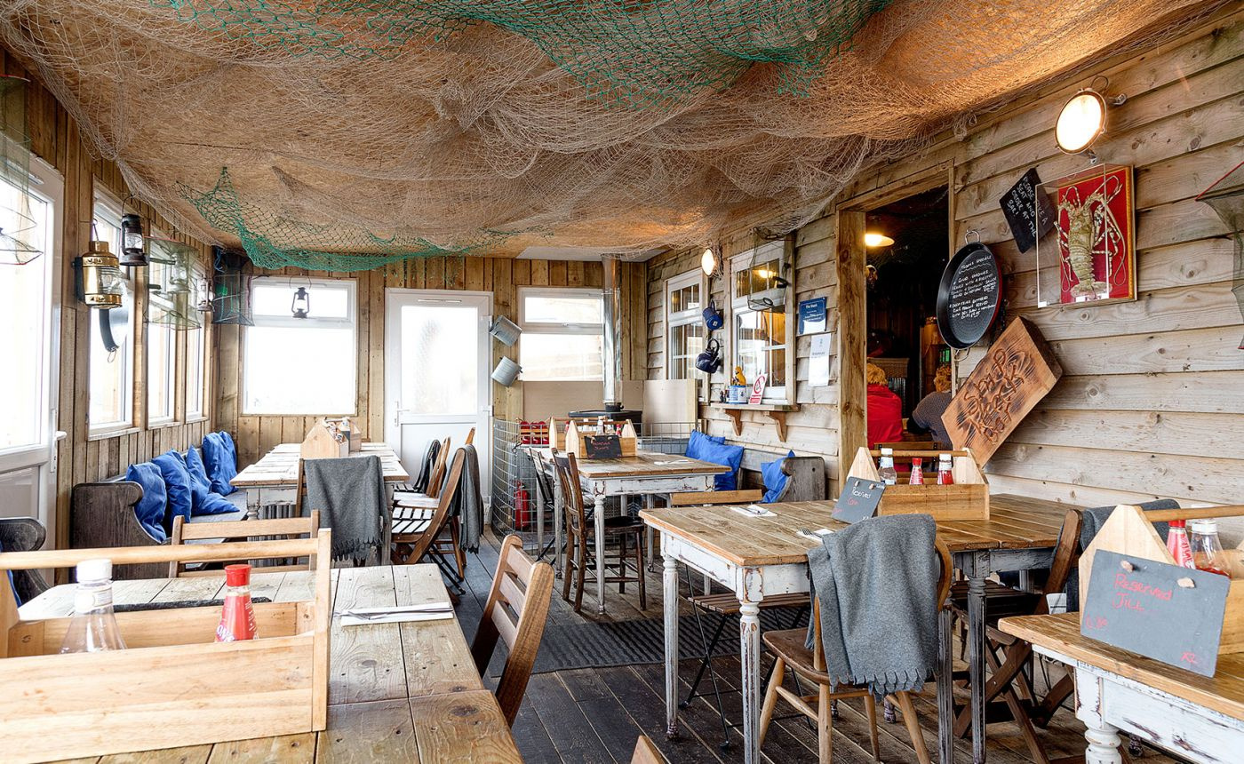 Fish Shack Amble interior