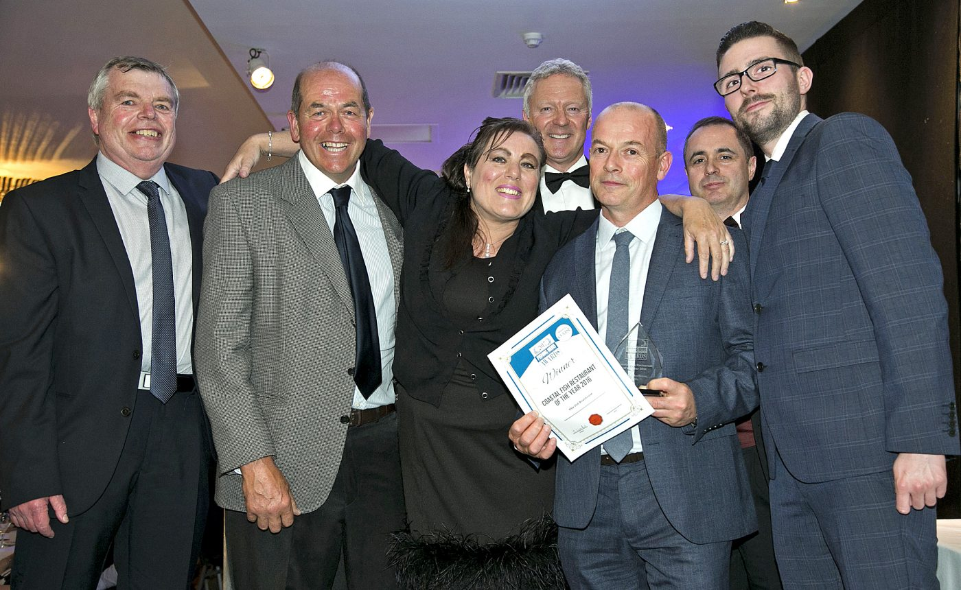 The Old Boat House win Best Coastal Fish Restaurant of the Year